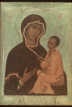 Обретение Тихвинской иконы Божьей Матери Theotokos1