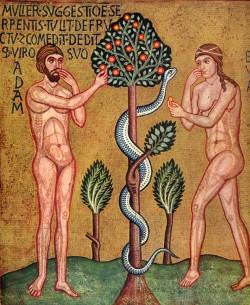 Adam Eve Temptation